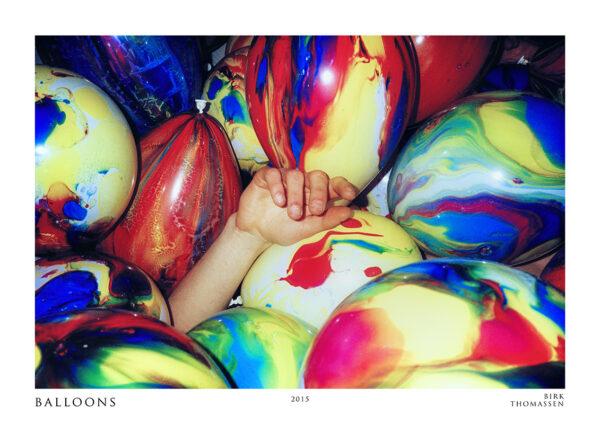 balloons hand